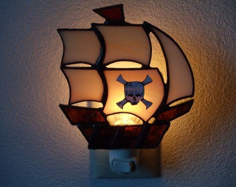 pirate ship nightlight
