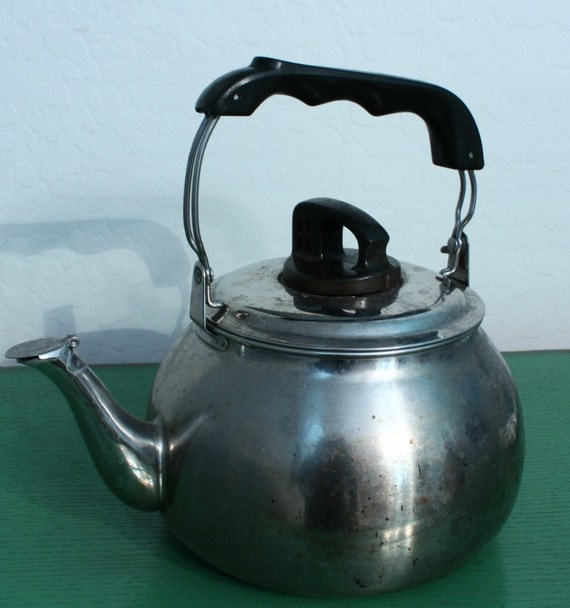how to clean the inside of a simplex tea kettle