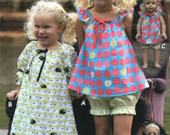 Nighty Nites Olive Ann Sewing Pattern Sizes 2-10