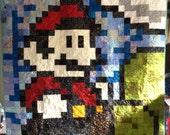 Mario Patchwork Quilt 3
