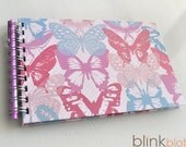 Birthday Interview Book Journal for girl -butterfly paper cover