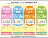 Teacher Appreciation - DIY Bookmarks