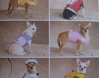 REDUCED - See Shop Announcement for 60%off code - Mini Clothes for your Pooch - Simplicity 2393 Pattern - UNCUT