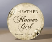 Bridesmaid Gift | Personalized Pocket Mirror | Flower Girl Gift | Grandma of the Bride Gift | Maid of Honor Gift | Wedding Party Gift