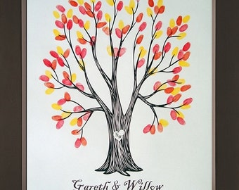 Wyndam Wedding Thumbprint Tree for up to 250 Guests
