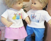 Prince Charming and The Princesses Outfits for Bitty Baby Twins