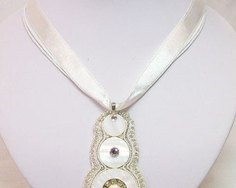 Mother Of Pearl Pendant.