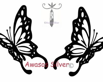 Beautiful Butterfly Decals