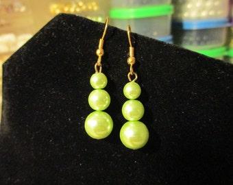 Earrings - Lime Lime Lime