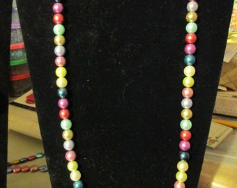 Necklace - Pearlized Rainbow N0097