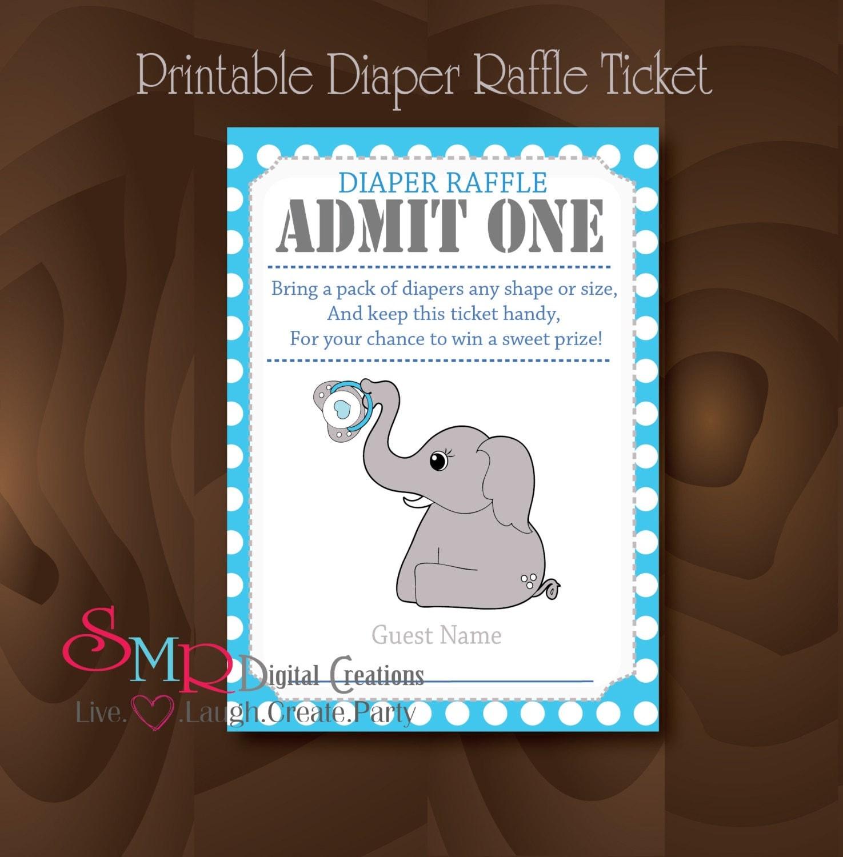 Cute Raffle Ticket Template Free Raffle ticket - printable