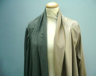 Chaki Olive 2 tone handmade jacket