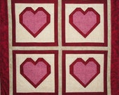 Heart Finished Quilt