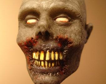 Zombie Head Keychain