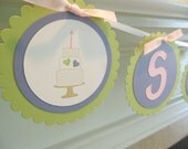 Birthday banner, Bridal shower banner, Baby shower banner, Birthday cake banner, Name banner