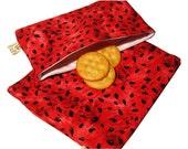 Watermelon Reusable Sandwich and Snack Bag Set