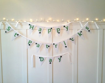 Happy St. Patrick's Day Bunting Banner