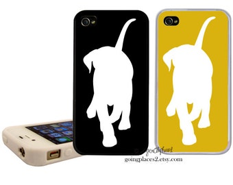 Labrador iphone Case fits iphone 7plus, 7, 6, 5, 5c, 4 and 4s Labradro iphone cover, Lab iphone case, Lab Silhouette