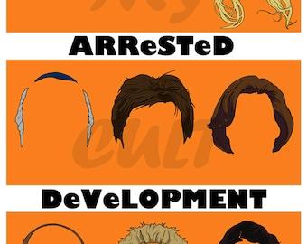 Original Arrested Development Banana Stand Art Print Poster