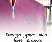 Design your own -- Womens long-sleeve merino wool jersey