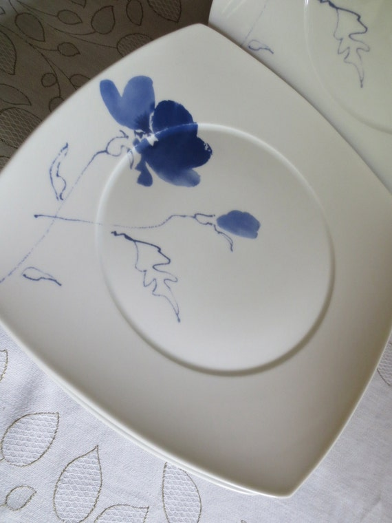 studio nova mikasa ming blue dinner plates 6 by