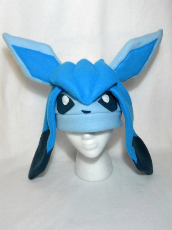 glaceon fleece hat by - photo #18