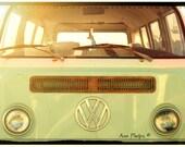 Volkswagen Van Vintage. Fine Art Photography.