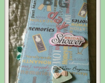 Scrapbook/Album Premade Bridal Shower