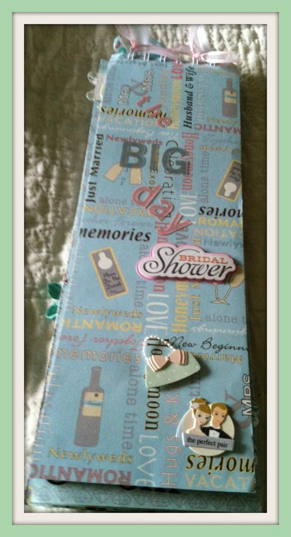 Scrapbook Album Premade Bridal Shower