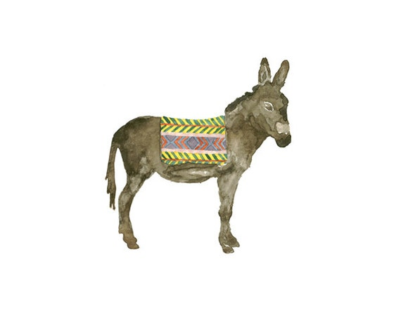 donkey in a blanket - You Choose The Size