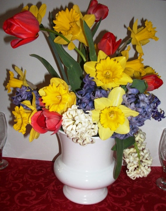 Flower Bulb Baskets : Flower basket bulb ready to grow personalized