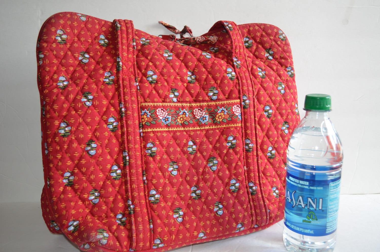 Vera Bradley Vintage Travel Bag