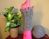 Heather Gray Fashion SNUGGIES Fingerless Gloves Wrist Warmers in Assorted SIZES