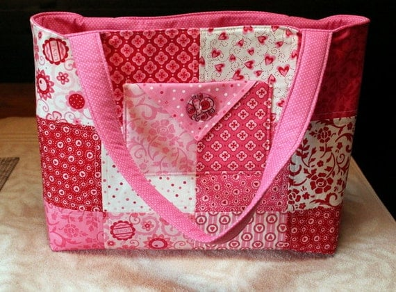 handmade quilted handbags - photo #44