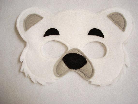 Mascaras de oso polar - Imagui