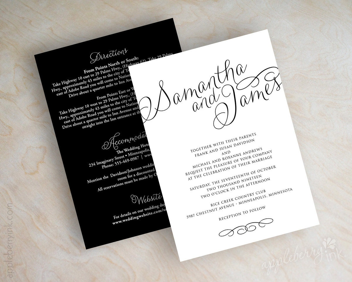 simple wedding invitations online invitations elegant, Wedding invitations