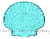 Sea Shell Applique Design