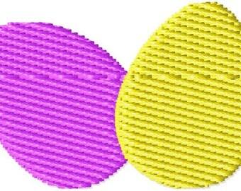 Two Eggs Mini Machine Embroidery Design