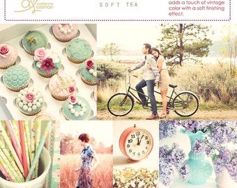 Photoshop Action Soft Tea INSTANT DOWNLOAD