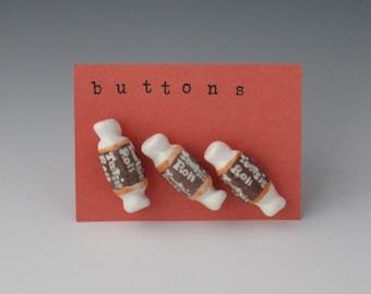 Ceramic Buttons, Buttons Ceramic, Childrens Buttons, Halloween Buttons, Candy Buttons