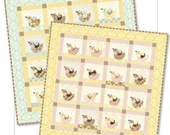 The More the Merrier Quilt Pattern by Bunnyhill Designs