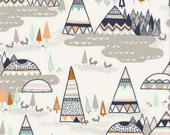 Art Gallery - Indian Summer Collection by Sarah Watson - Woodland Oak