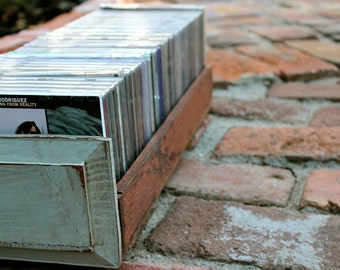 Set of Two - Wooden Library Drawer - Wedding - CD Storage - Reclaimed Wooden - Organize - Bathroom - Kitchen - Gift Idea - Trinket Holder