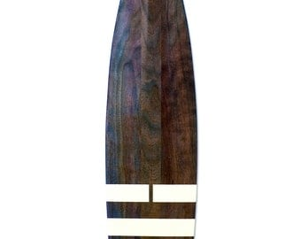 Elements series (Water) designer cherry wood canoe paddle/oar