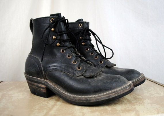 nicks handmade boots nick s contender handmade leather logger packer 8008
