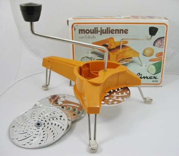 Mouli julienne manual food processor by moulinex by thefronthouse - Julienne blade food processor ...