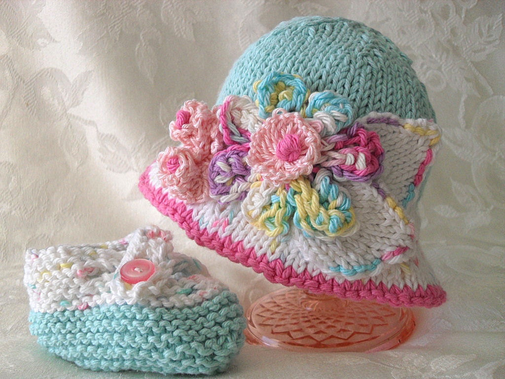 Knitting Patterns For Babies Bonnet Free : Baby Hats Knitting Knit Baby Hat Knitted Baby Bonnet Knit Baby