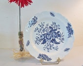 Vintage Booths Peony Plate Made in England