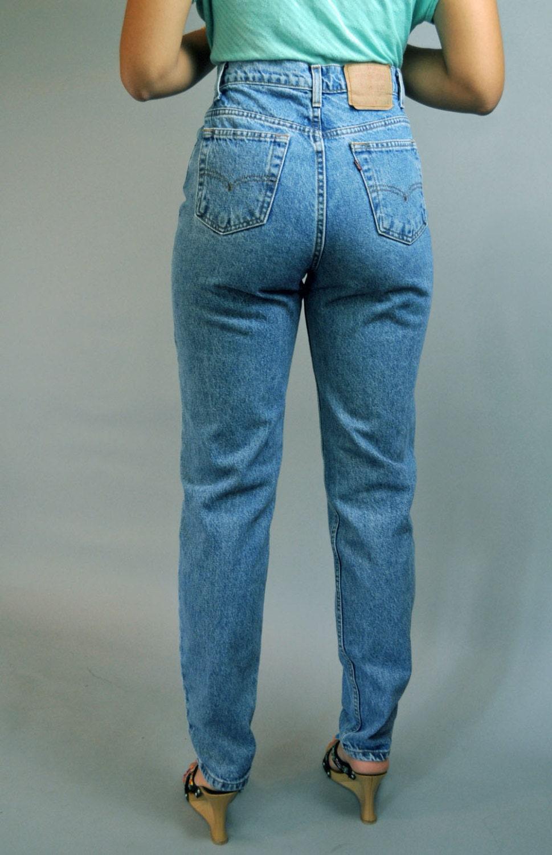 vintage 80er jahre high waist jeans womens levis 512. Black Bedroom Furniture Sets. Home Design Ideas