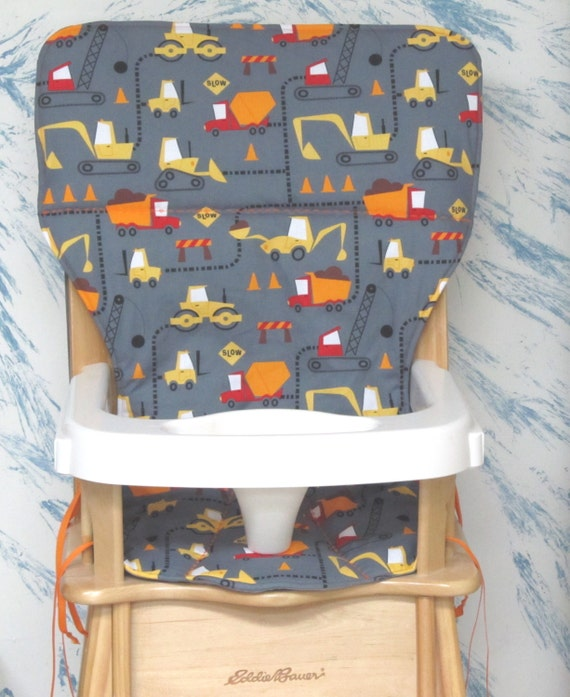 Eddie Bauer Jenny Lind Wood High Chair Cover Pad Cone Zone